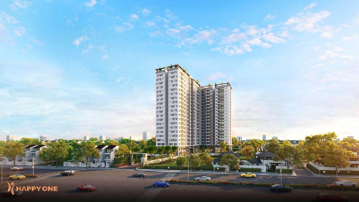 Phối cảnh Dự án Căn hộ Chung cư Happy One Hà Huy Giáp Thạnh Lộc Quận 12