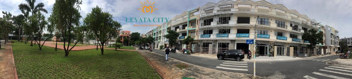 Hình ảnh Khu Nhà Phố Levata City Bình Tân