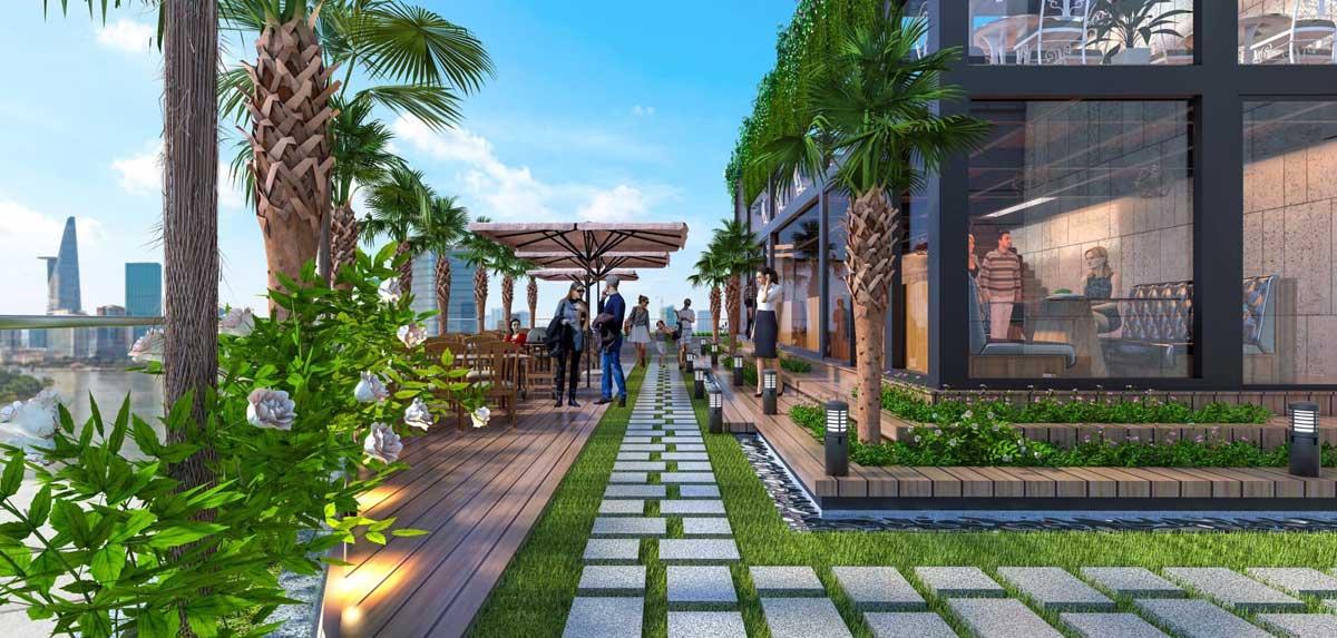 Khu Sky Bar Dự án Căn hộ Chung cư D'Lusso Quận 2