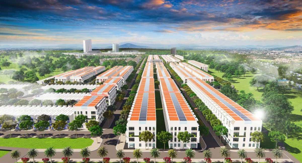 Thiết kế nhà phố của dự án mỹ lệ capital