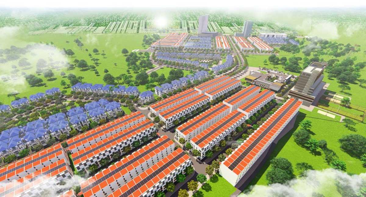 Phối cảnh Dự án Khu Đô Thị Mỹ Lệ Capital Bình Phước
