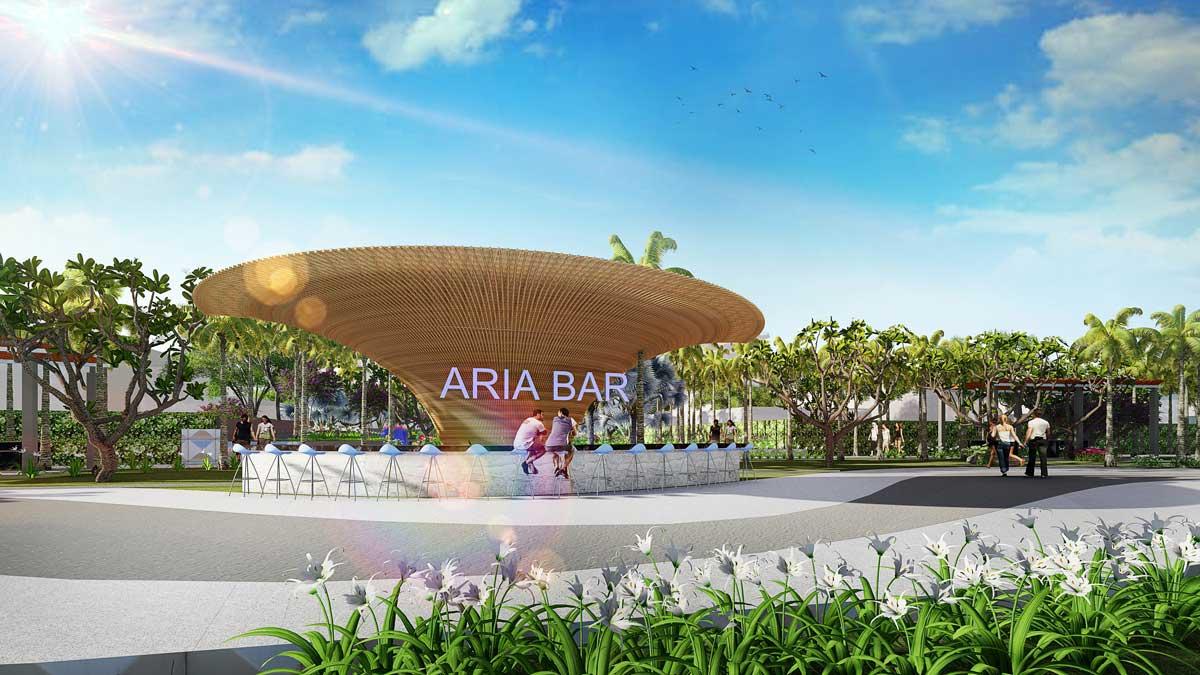 Quầy Bar Biển Dự án Aria Vũng Tàu
