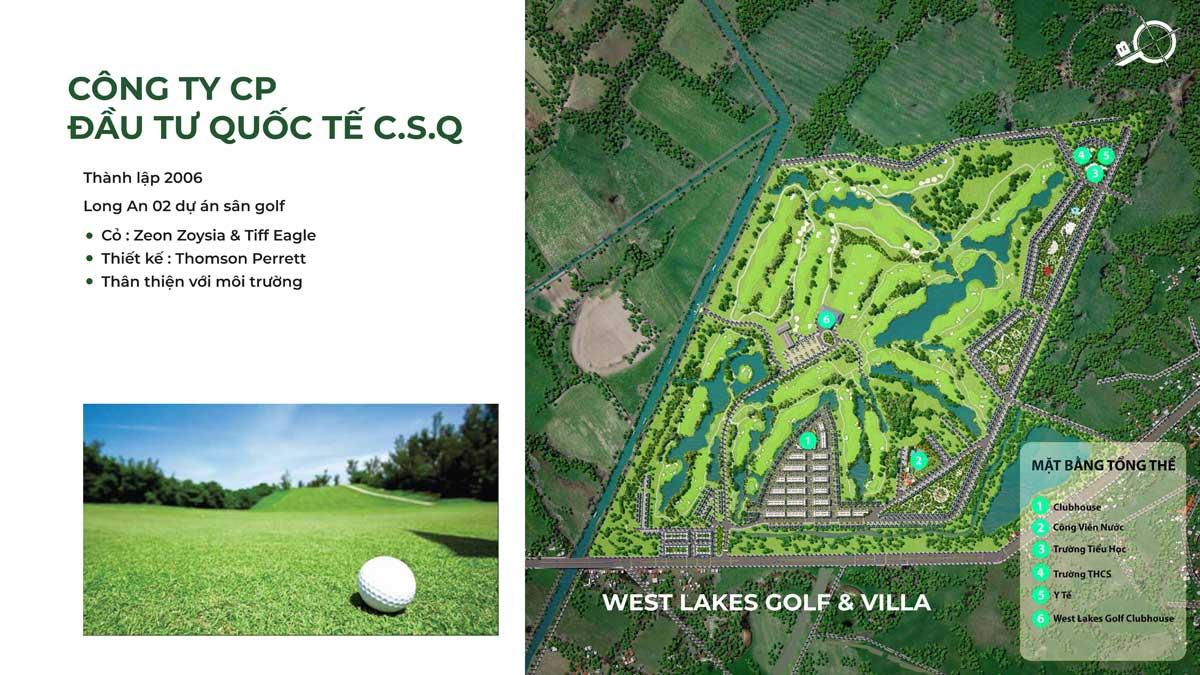 Tiện ích Dự án West Lakes Golf & Villas