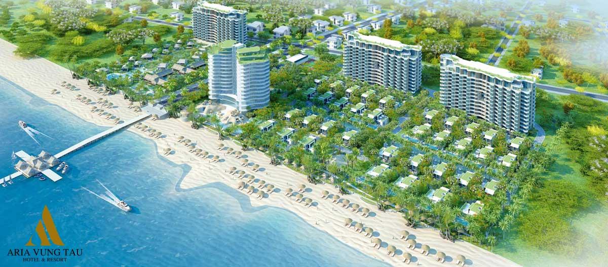 Tiện ích nội khu Dự án Căn hộ Aria Vũng Tàu Hotel & Resort