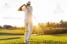 Tiện ích sân golf ngay ben trong khuôn viên dự án