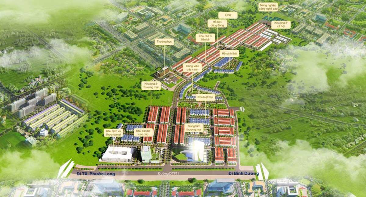 Tiện ích nội khu Dự án Khu Đô Thị Mỹ Lệ Capital Bình Phước