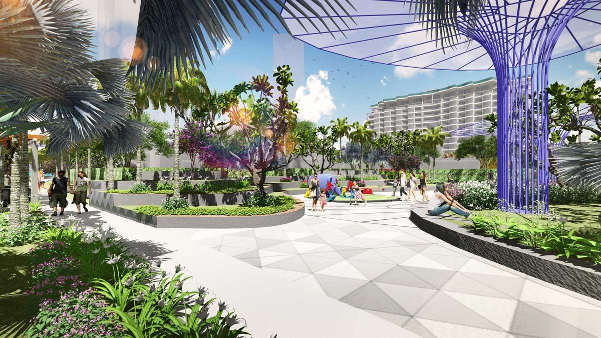 Vườn bách thảo Dự án Aria Vũng Tàu