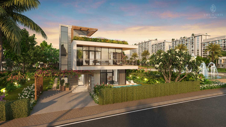 Hình ảnh The Maris facade villa 2