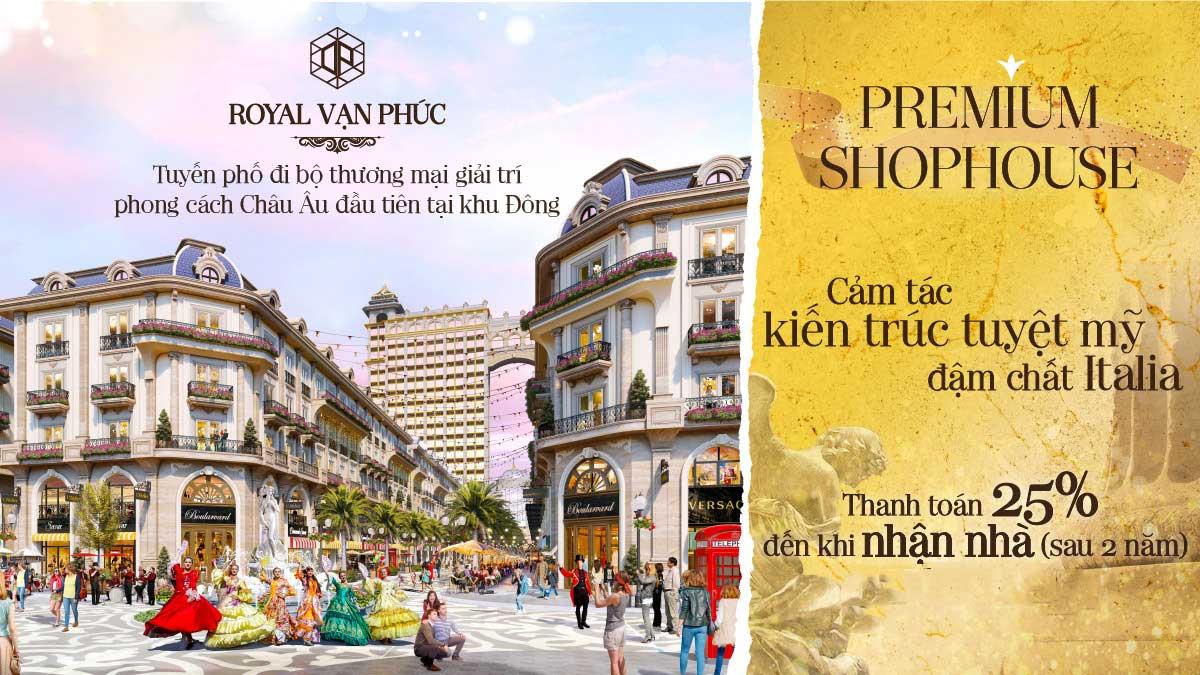 Premium Shophouse Vạn Phúc City Thủ Đức