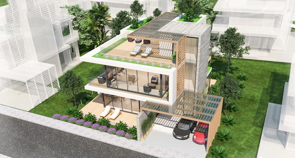Phối cảnh Biệt thự Dự án Biệt thự Căn hộ Condotel The Maris Vũng Tàu