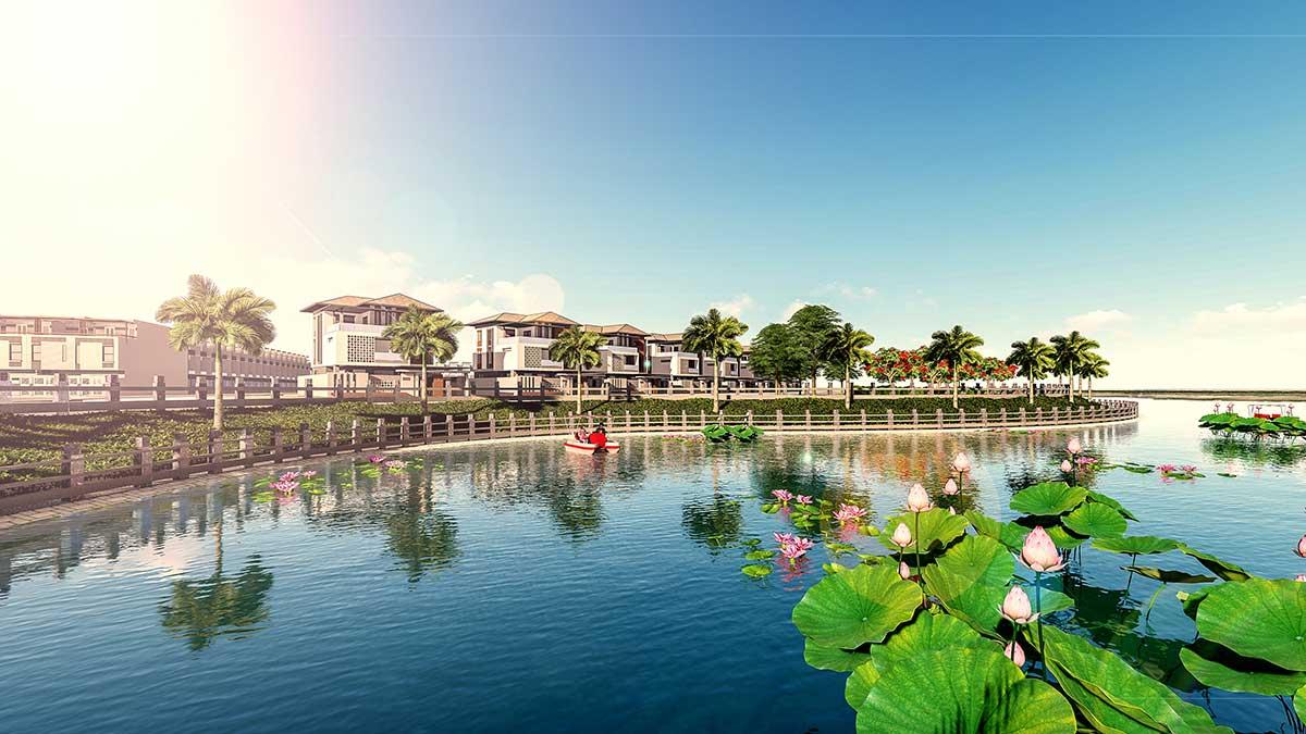 Khu biệt thự View Sông Dự án Khu đô thị Vinhomes Nhơn Trạch Đồng Nai