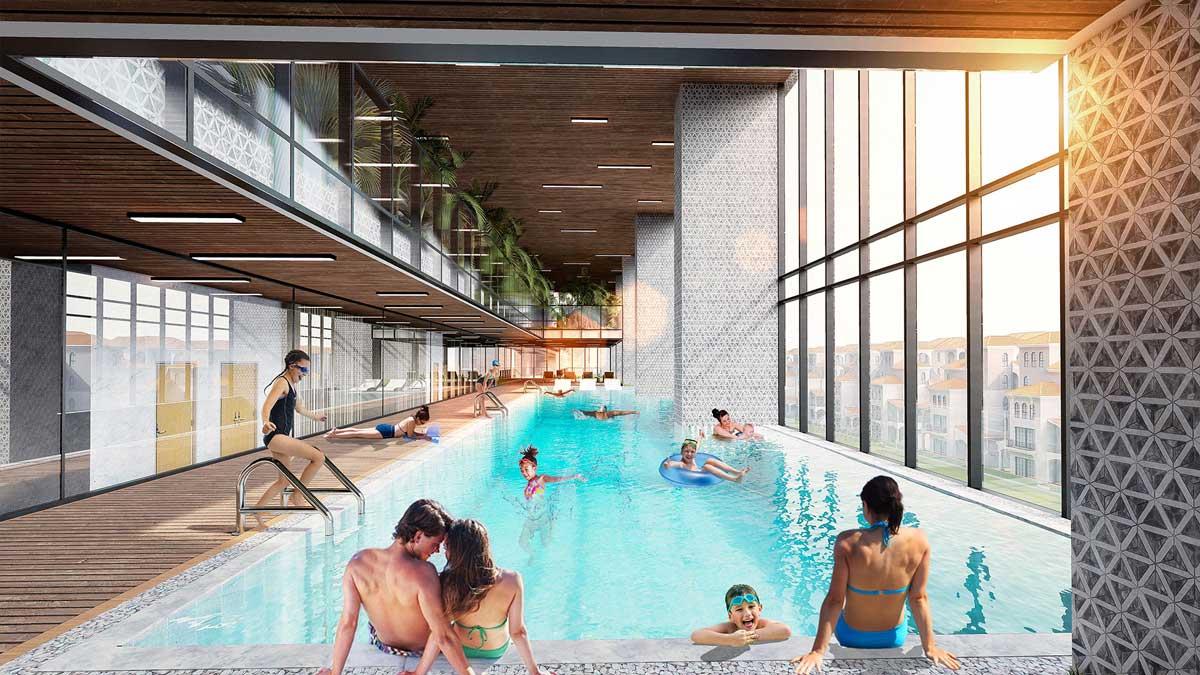Hồ bơi Dự án Căn hộ Sunshine Continental Quận 10