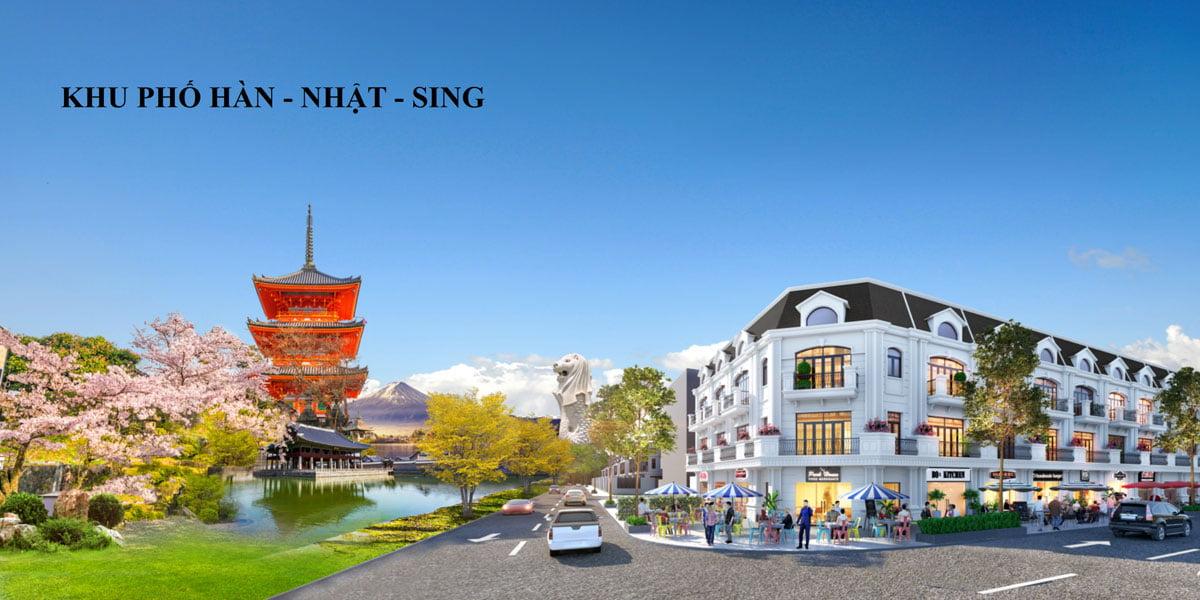 Khu phố Nhật – Hàn – Singapore Kỳ Co Gateway Nhơn Hội Quy Nhơn