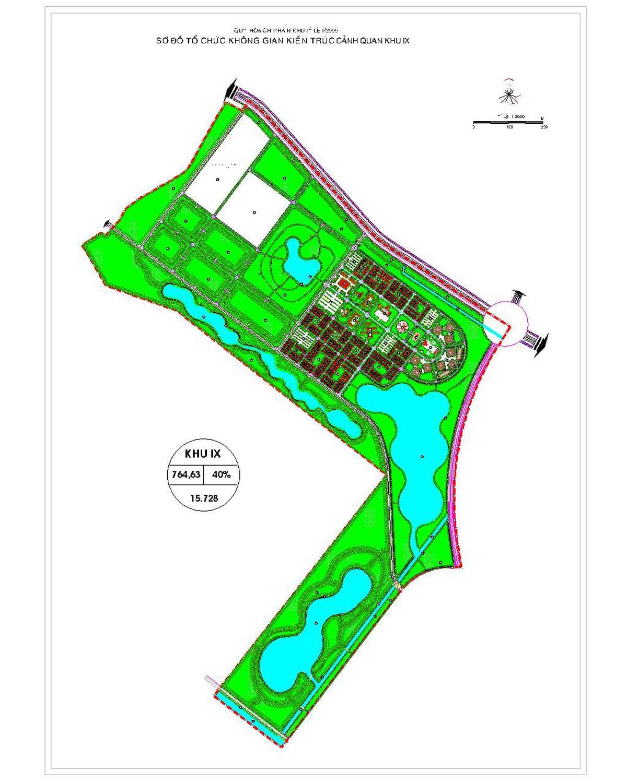 Phân khu chức năng số IX Dự án Khu đô thị Vinhomes Hóc Môn