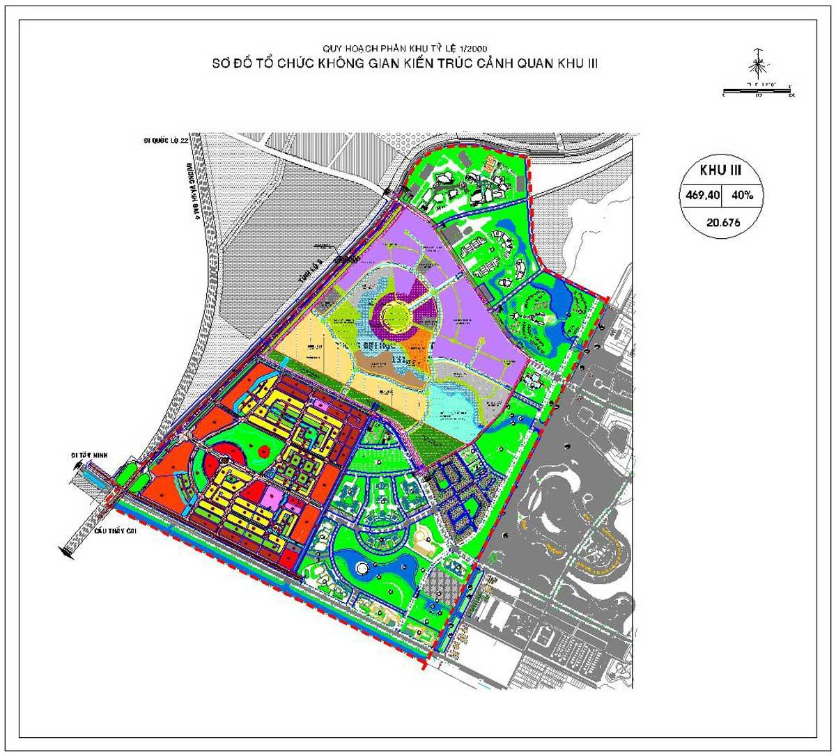 Phân khu chức năng số 3 Dự án Khu đô thị Vinhomes cu chi