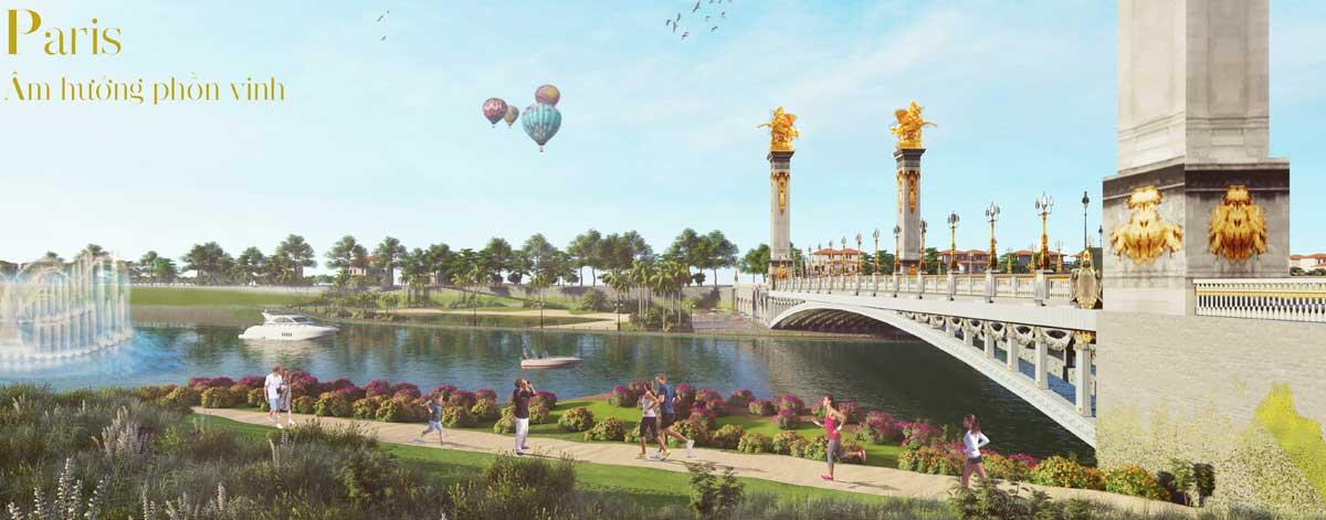 Phân khu The Paris Dự án Royal Star Lake Đồng Xoài Bình Phước