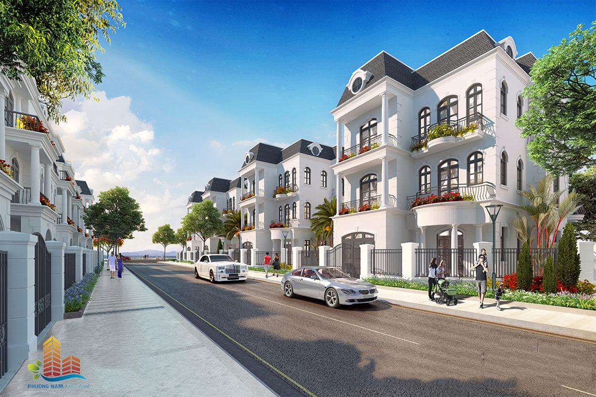 Phối cảnh Biệt thự Dự án Phương Nam River Park