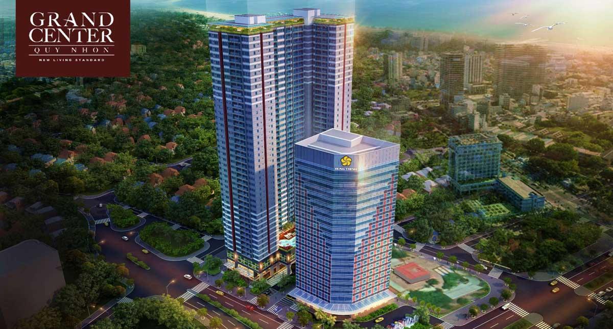 Phối cảnh Dự án Căn hộ Grand Center Quy Nhơn