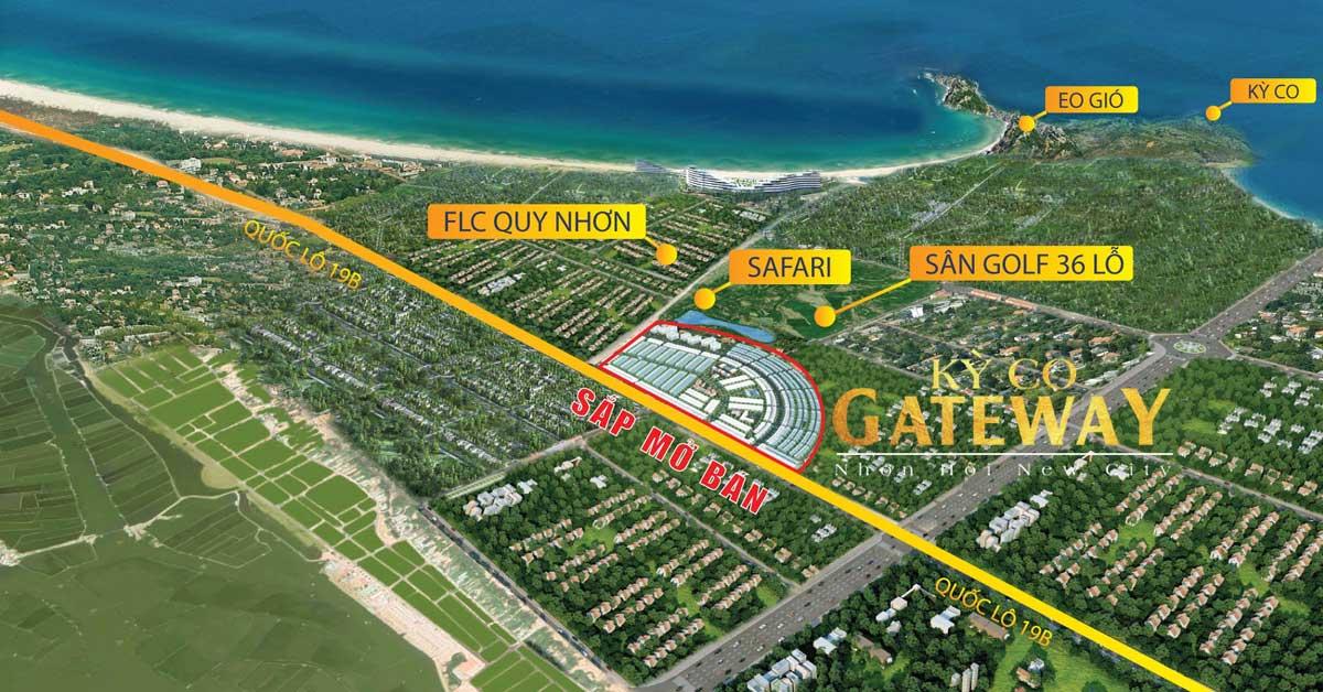 Phối cảnh Tổng thể Phân khu 9 Kỳ Co Gateway Nhơn Hội