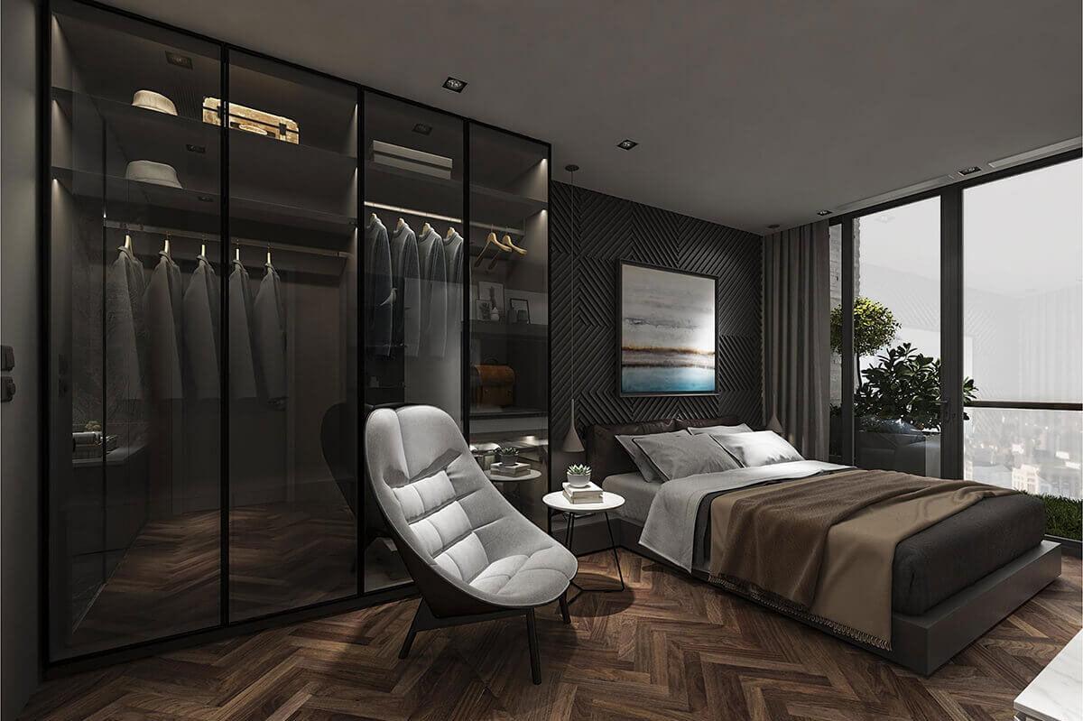 Phòng ngủ Căn hộ Sunshine Horizon