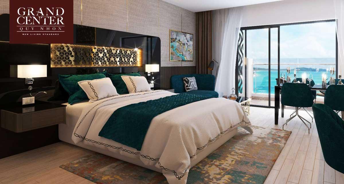 Phòng ngủ Căn hộ Grand Center Quy Nhơn