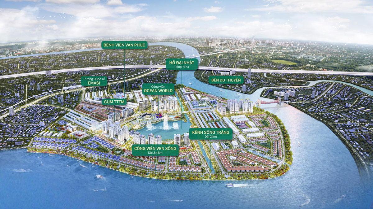 Tiện ích Dự án Khu đô thị Vạn Phúc City Thủ Đức