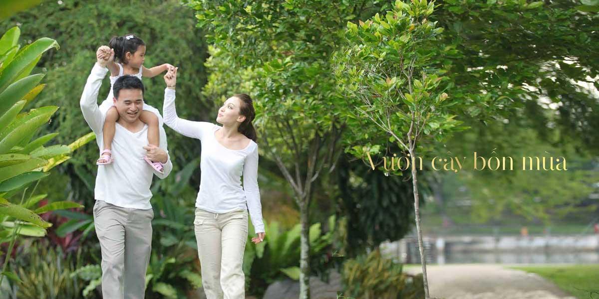 Vườn cây 4 mùa Royal Star Lake Đồng Xoài Bình Phước