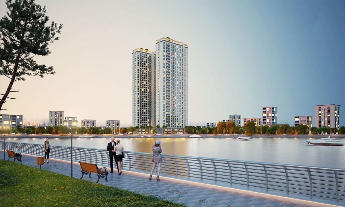 Toàn cảnh Dự án Căn hộ Chung cư Phú Tài Residence Quy Nhơn