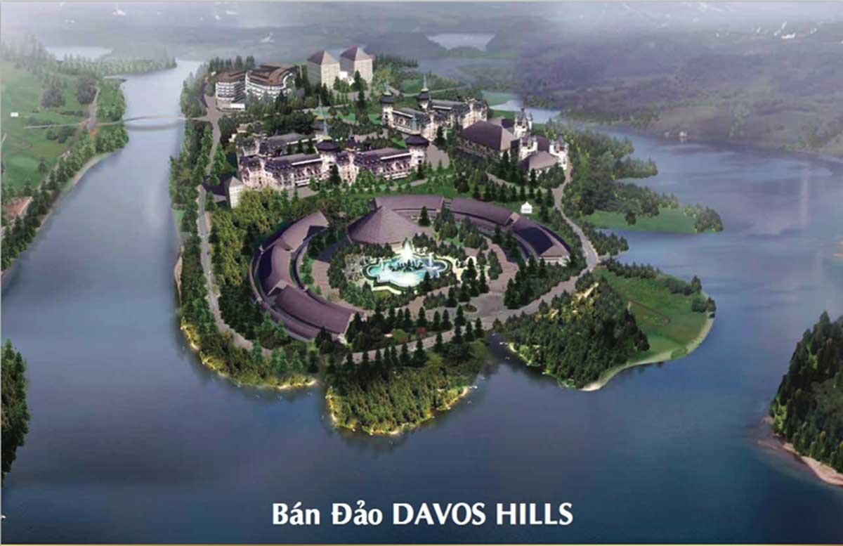 Bán đảo Davos Hills tại Khu đô thị Nam Đà Lạt