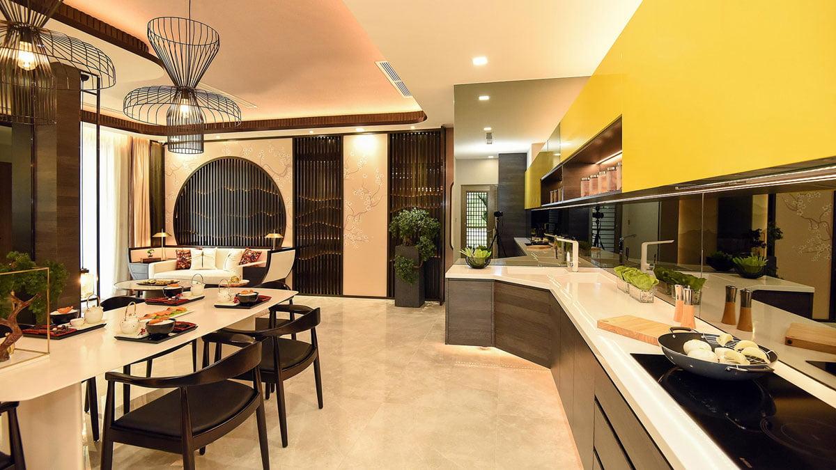 Bếp Căn hộ The Antonia Phú Mỹ Hưng Quận 7
