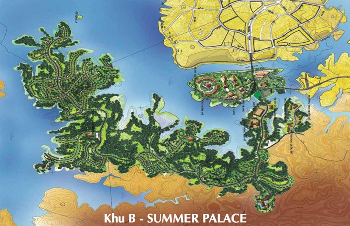 Khu B Summer Palace Khu đô thị Nam Sài Gòn
