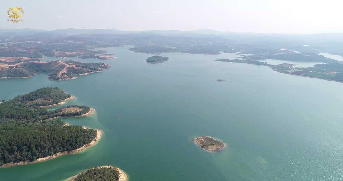 Hồ Đại Ninh tại Dự án Khu đô thị Nam Đà Lạt