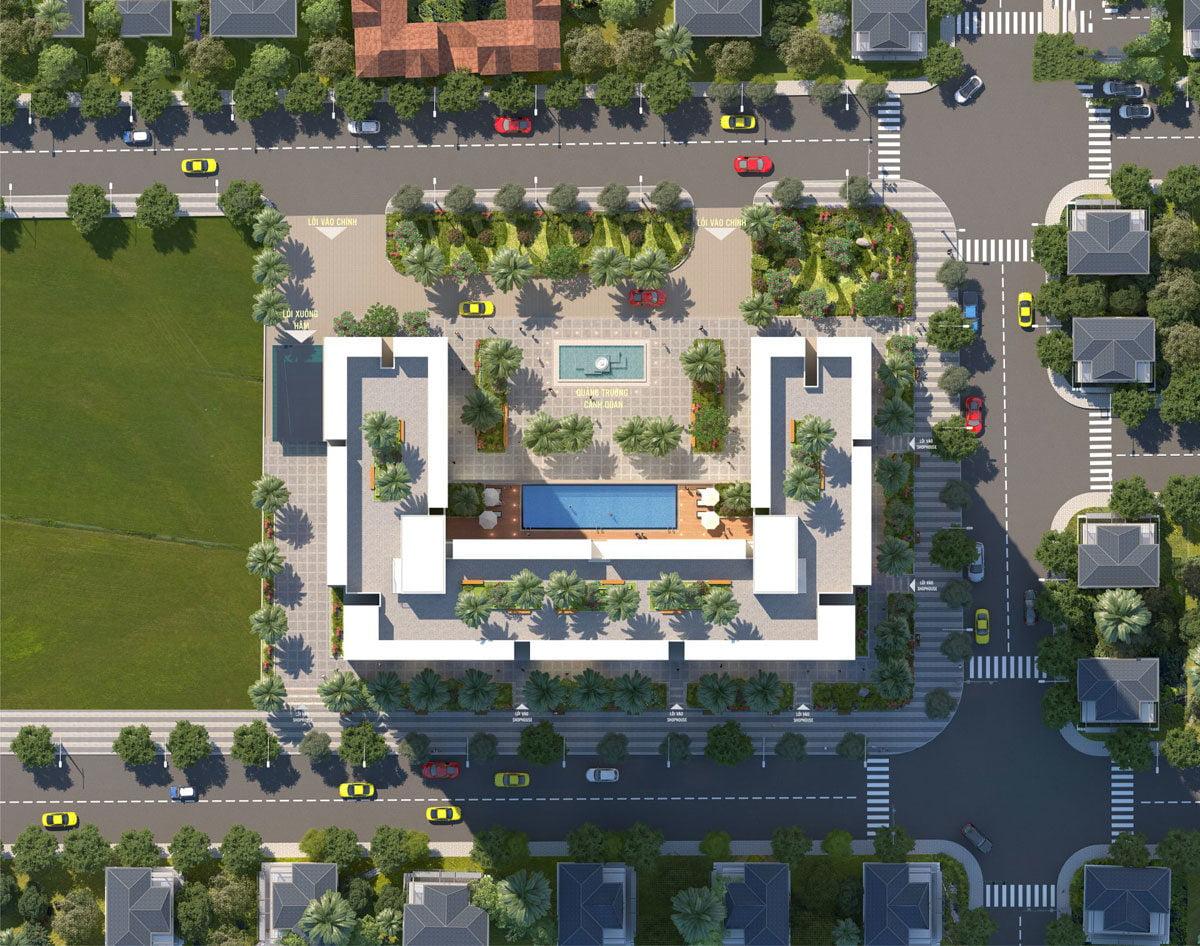 Mặt bằng Dự án Căn hộ Chung cư Phú Tài Residence