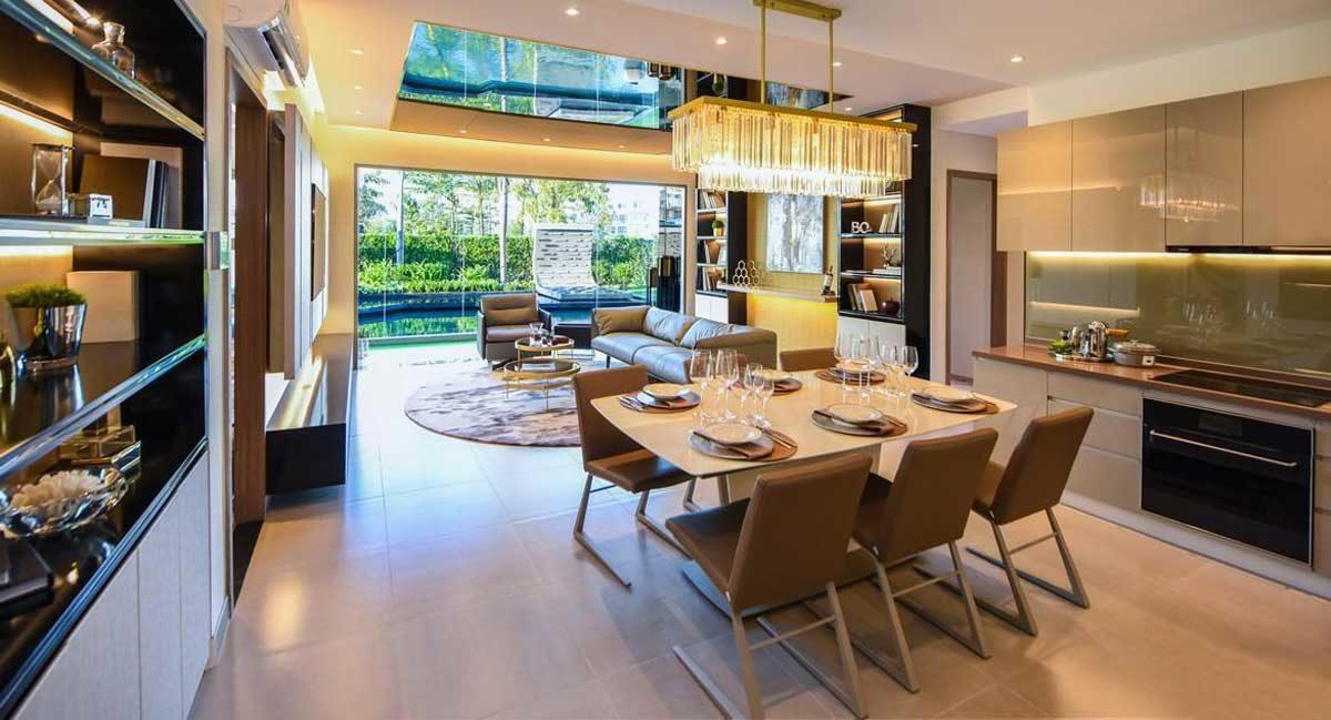 Phòng bếp Dự án Royal Park Riverside