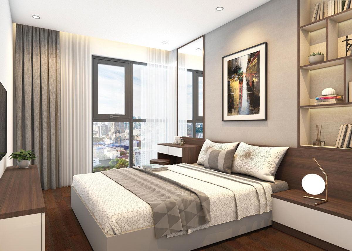 Phòng ngủ Căn hộ Chung cư Phú Tài Residence