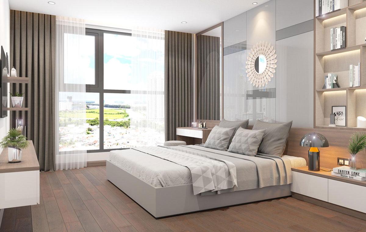 Phòng ngủ lớn Căn hộ Chung cư Phú Tài Residence