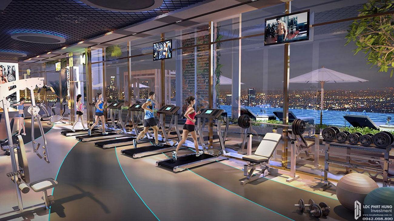 Tiện ích gyms căn hộ cao cấp Royal Park Riverside