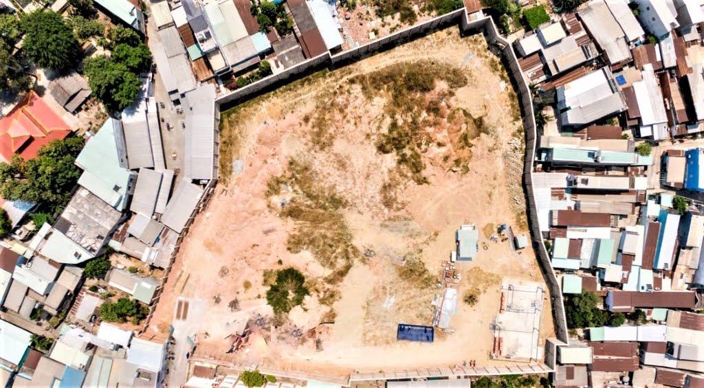 Hỉnh ảnh thực tế tại khu đất dự án bcons green view
