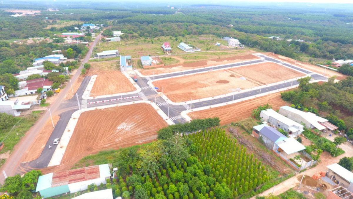 Hình ảnh thực tế Tiến độ thi công Dự án khu dân cư Thuận Hoà Lucky Home