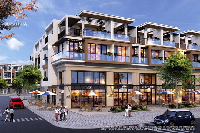 Khu phố thương mại mặt tiền Võ Nguyên Giáp của dự án TNR Amaluna