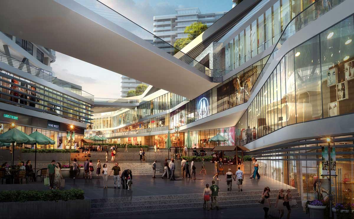 Khu trung tâm thương mại Vincom Hóc Môn