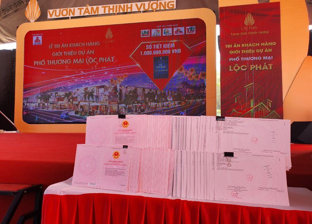 Lễ mở bán dự án Phố thương mại Lộc Phát