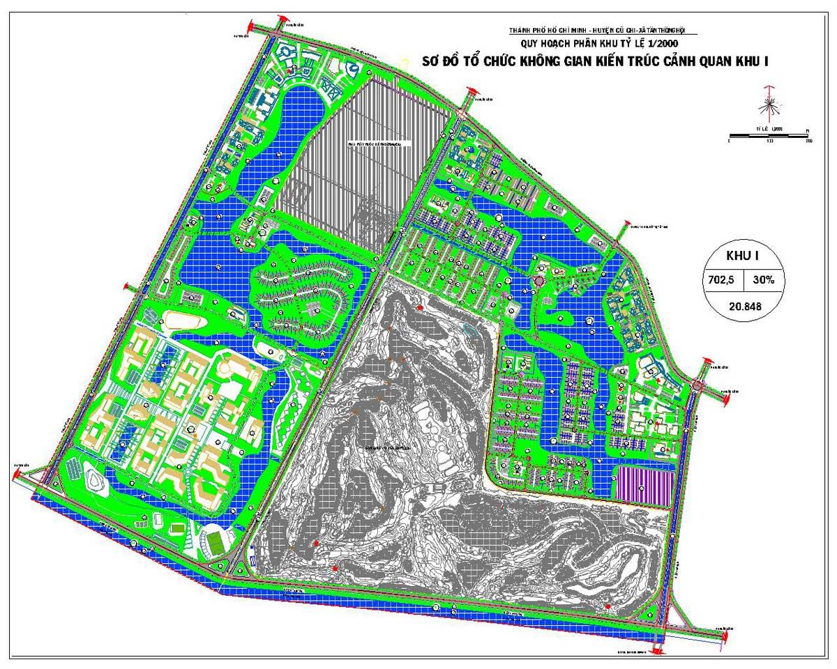 Phân khu chức năng số I Dự án Khu đô thị Vinhomes Hóc Môn