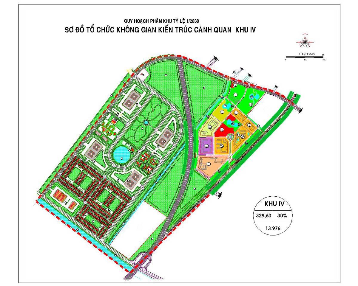 Phân khu chức năng số IV Dự án Khu đô thị Vinhomes Hóc Môn