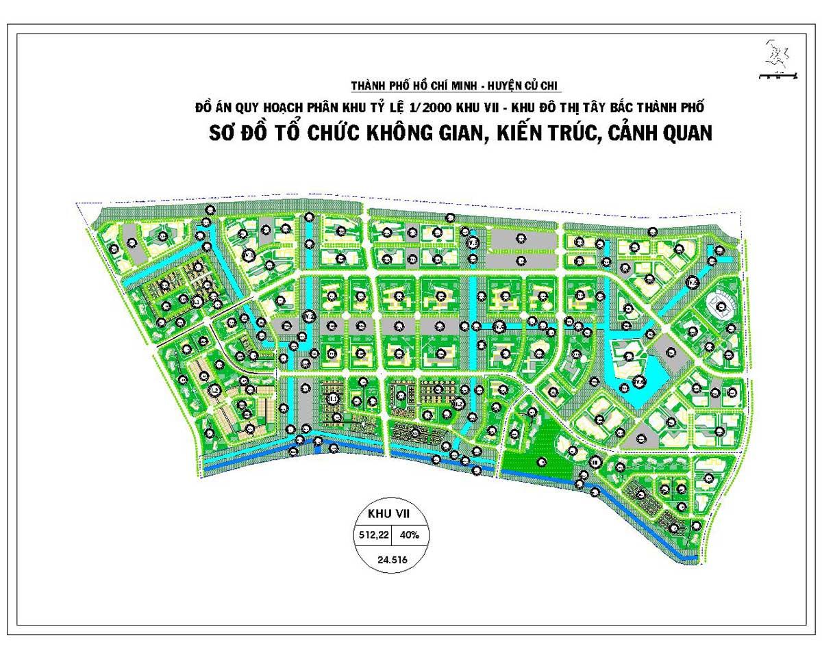 Phân khu chức năng số VII Dự án Khu đô thị Vinhomes Hóc Môn