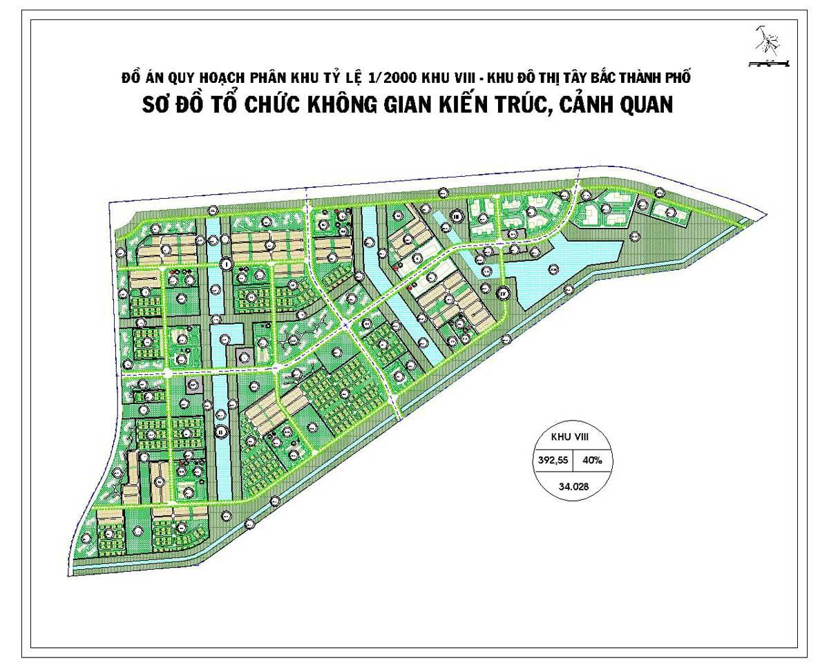 Phân khu chức năng số VIII Dự án Khu đô thị Vinhomes Hóc Môn