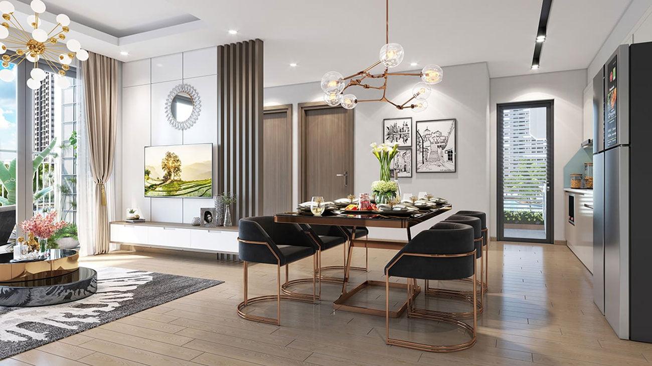 Nhà mẫu dự án căn hộ Masterise Homes Quận 9 với các thiết kế nội thất siêu sang