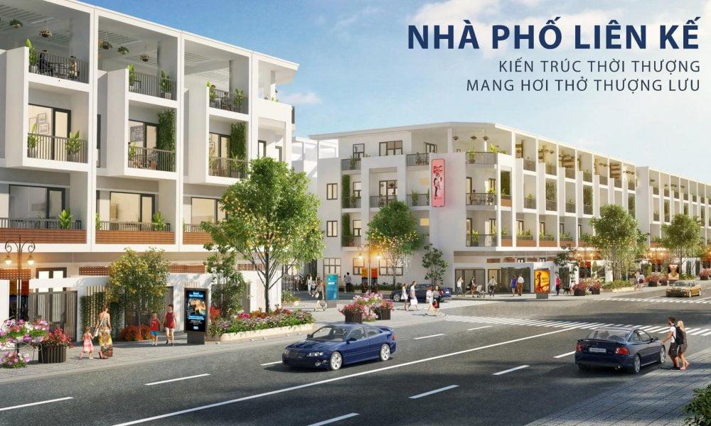 Thiết kế nhà phố liền kề TNR Amaluna Trà Vinh