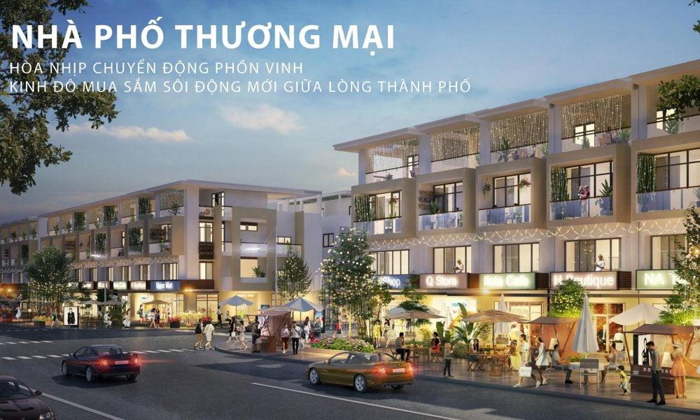 Thiết kế nhà phố thương mại TNR Amaluna Trà Vinh