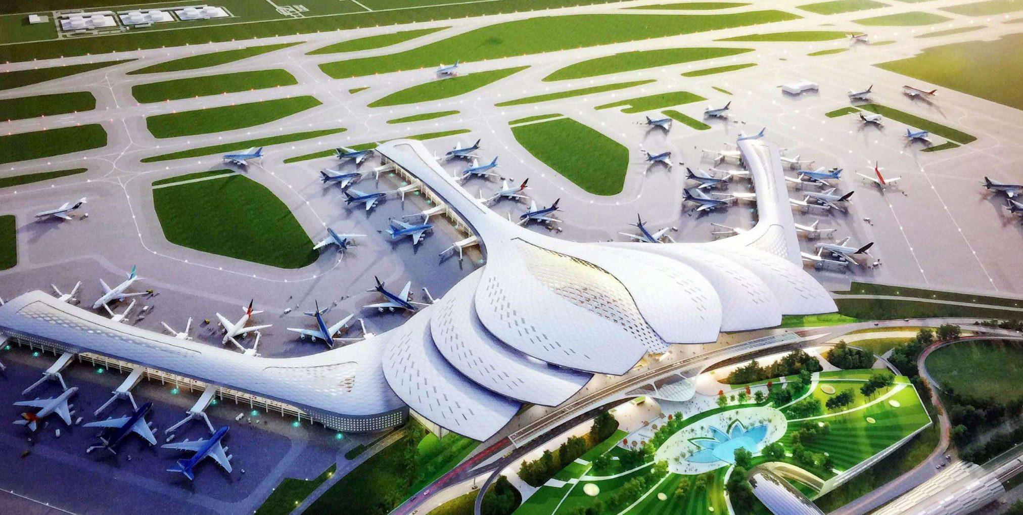 Tiện ích sân bay quốc tế long thành